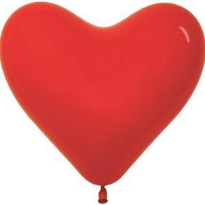Сердце Красный, пастель, 41 см